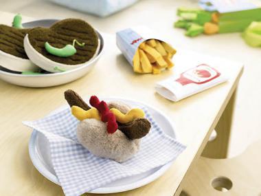 Haba Kaufladen Biofino Bratwurst mit Brötchen 3985