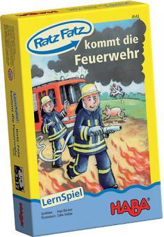 Haba Ratz Fatz kommt die Feuerwehr 4542
