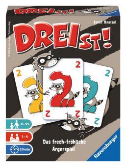 Ravensburger DREIst, Ravensburger® Kartenspiele 207657