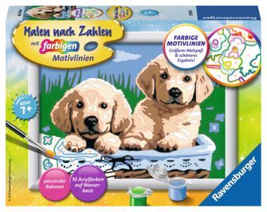 Ravensburger Süße Hundewelpen, MnZ Serie E 278398