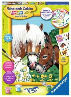 Ravensburger Haflinger und Esel, MnZ Serie Pferd 286409