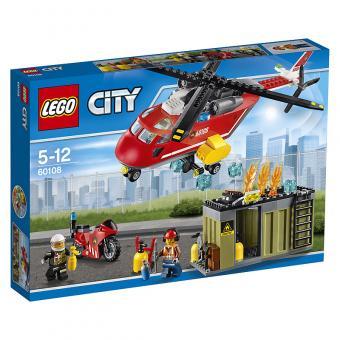 LEGO® City Feuerwehr-Löscheinheit 60108