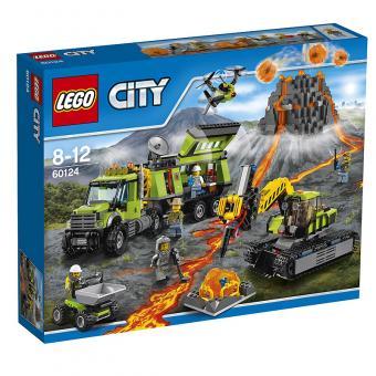 LEGO® City Vulkan-Forscherstation 60124