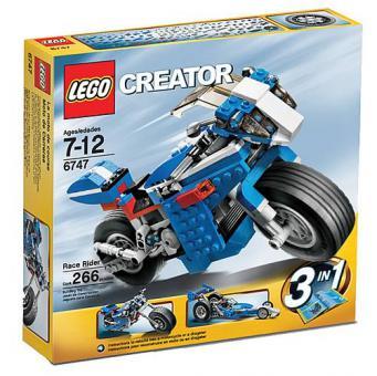 LEGO CREATOR Blaue Rennmaschine 6747