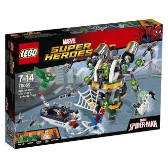 LEGO® Marvel Super Heroes™ Spider-Man: Doc Ocks Tentakelfalle 76059