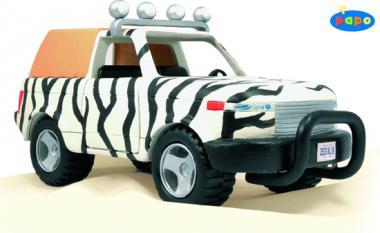 Papo Savannen-Wagen mit Fahrer 39238