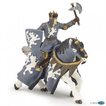Papo Pferd des schwarzen Ritters mit Axt 39776