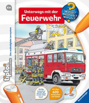Ravensburger WWW6 Unterw.m.d.Feuerwehr , tiptoi Bücher 005819