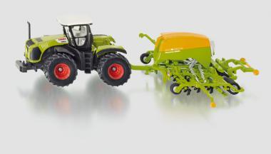 Siku Farmer Traktor mit Sämaschine 1826