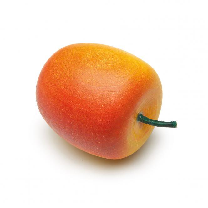 Erzi Kaufladen Apfel, gelb-rot 11001