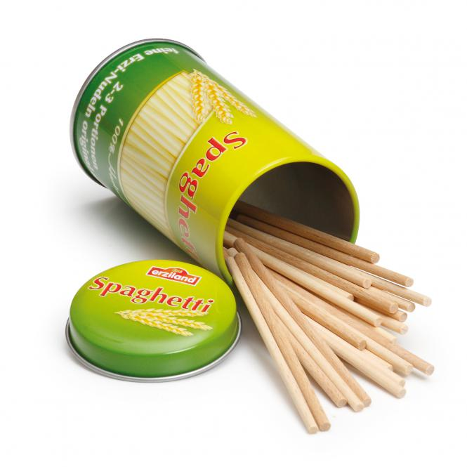 Erzi Kaufladen Spaghetti in der Dose 17180