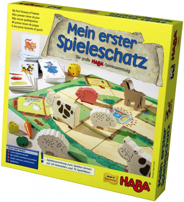 Haba Mein erster Spieleschatz – Die große HABA-Spielesammlung 4278
