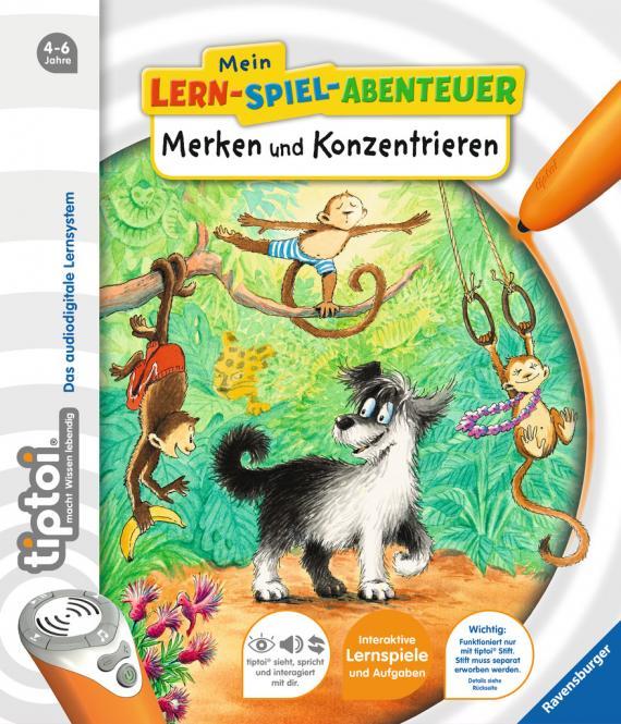 Ravensburger Merken und Konzentrieren  , tiptoi Bücher 006762