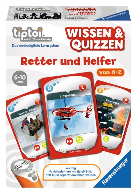 Ravensburger Wissen&Quiz:Retter&Helfer , tiptoi Spiele/Puzzles 008292