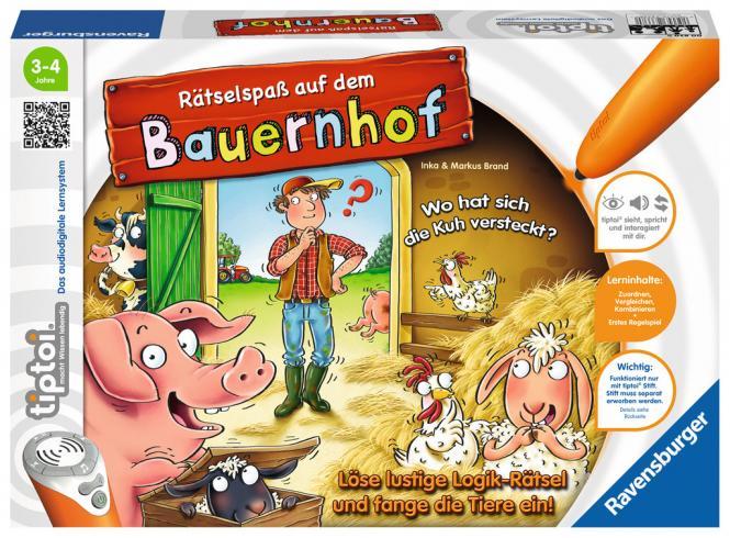 Ravensburger Rätselspaß auf d.Bauernhof, tiptoi Spiele/Puzzles 008308