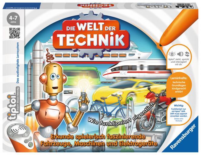 Ravensburger Die Welt der Technik, tiptoi Spiele/Puzzles 008377