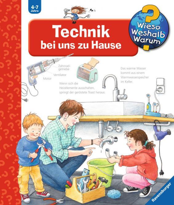 Ravensburger WWW24Tech. bei uns zu Haus, Wieso?Weshalb?Warum? 024797