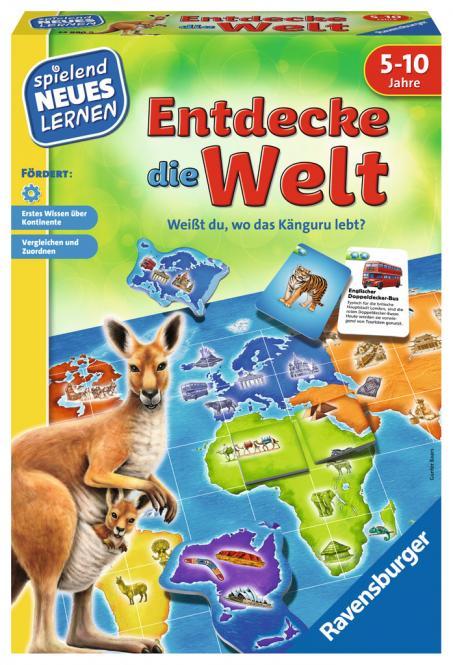 Ravensburger Entdecke die Welt, Spielen und Lernen 249909