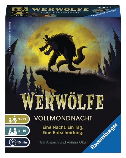 Ravensburger Werwölfe Vollmondnacht, Ravensburger® Kartenspiele 267033
