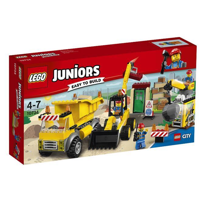 LEGO® Juniors Große Baustelle 10734