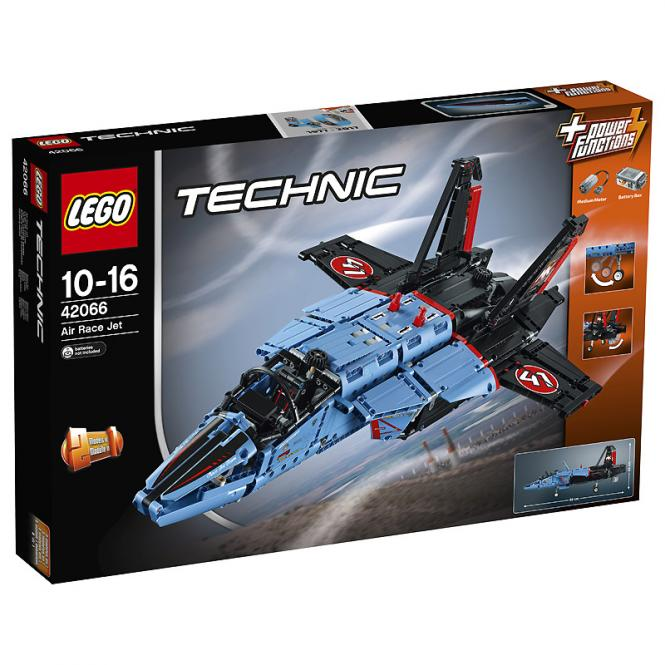 LEGO® Technic Air Race Jet 42066