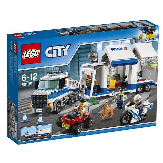 LEGO® City Mobile Einsatzzentrale 60139