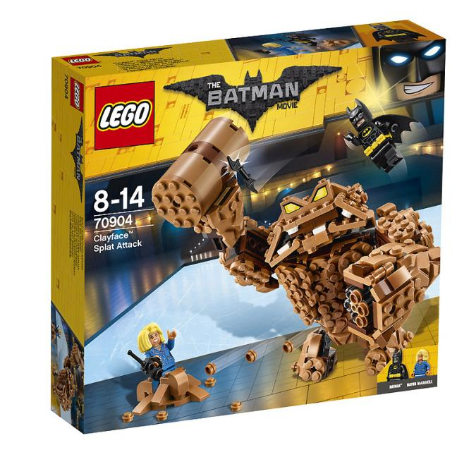 The LEGO Batman Movie™ Clayface™: Matsch-Attacke 70904