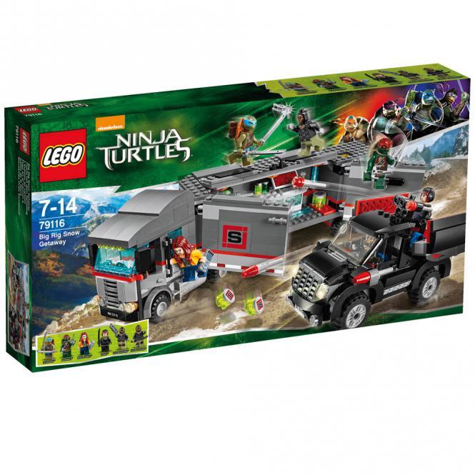 LEGO® Ninja Turtles 79116 Flucht mit dem Sattelzug