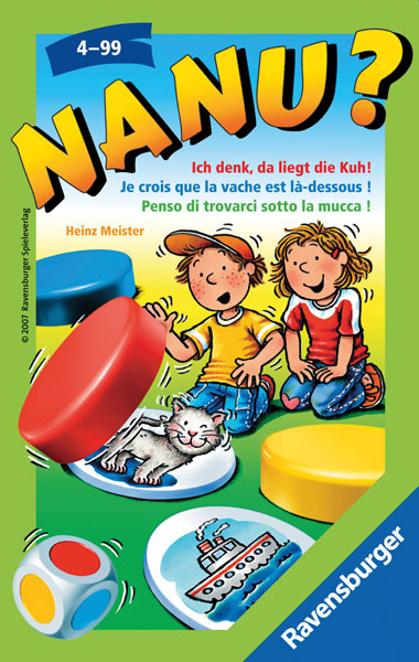 Ravensburger Nanu, Mitbringspiele 230631