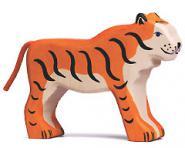 Holztiger Tiger, stehend 80136