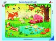 Ravensburger Kleine Tierfreunde        42p, 30-48 T. Rahmenpuzzles 05075