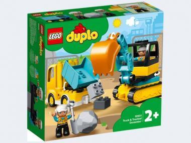 LEGO® DUPLO® Bagger und Laster 10931
