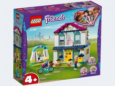 LEGO® Friends 4+ – Stephanies Familienhaus 41398