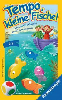 Ravensburger Tempo, kleine Fische!     D/F/I, Mitbringspiele 23334