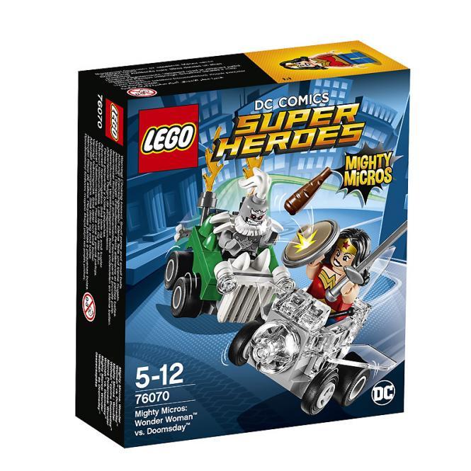 LEGO® DC Universe Super Heroes™ Mighty Micros: Wonder Woman™ vs. Doomsda 76070