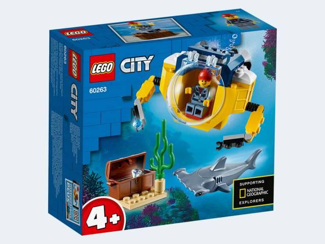 LEGO® City Mini-U-Boot für Meeresforscher 60263