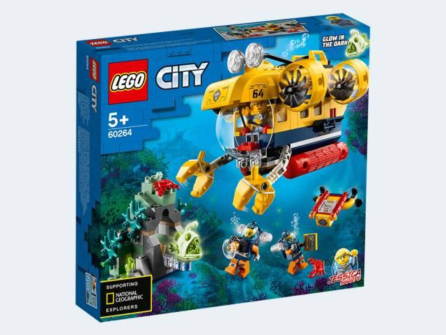 LEGO® City Meeresforschungs-U-Boot 60264