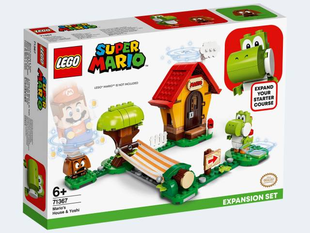 LEGO® Super Mario Marios Haus und Yoshi – Erweiterungsset 71367